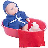 Кукла Карапуз в ванночке, девочка, Весна