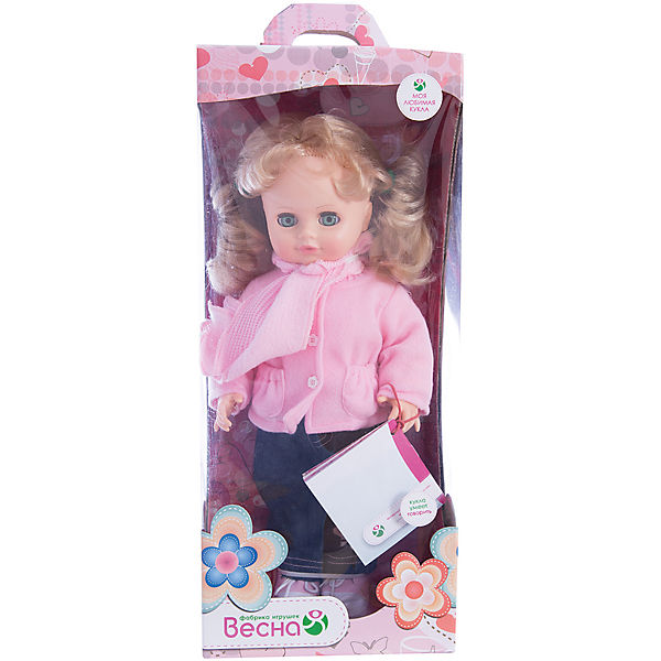 Кукла Инна 38, со звуком, Весна