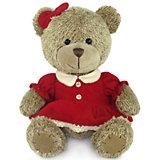 Медвежонок-девочка, музыкальная, 18 см, LAVA