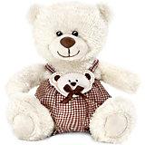 Медвежонок Сэмми в клетчатых штанишках, 18 см, LAVA