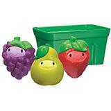 Игрушки для ванны Фрукты в корзине 9+, Munchkin