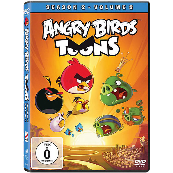 DVD Angry Birds Toons - Season 2.2