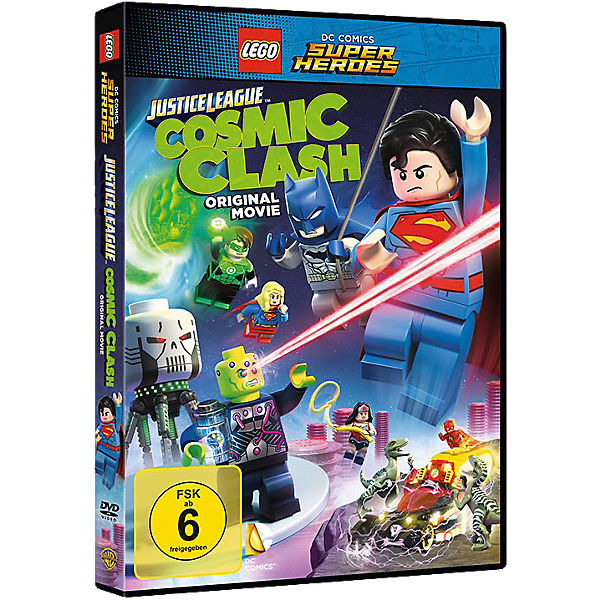 DVD LEGO DC Comics Super Heroes: Justice League - Cosm