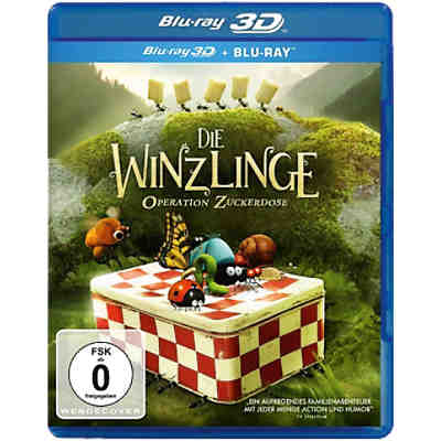 BLU-RAY Die Winzlinge - Operation Zuckerdose (3D)