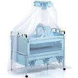Кроватка-трансформер 05TLY668R (RBLU), Geoby, голубой