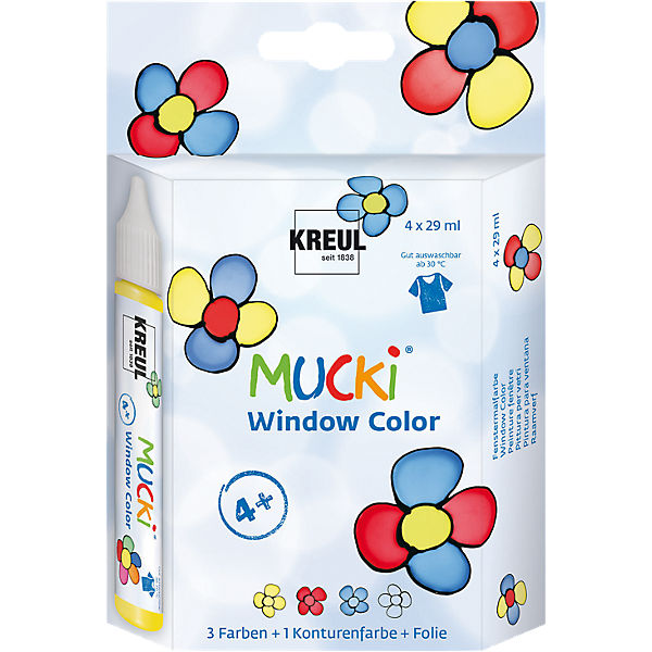 Mucki Window Color 4er-Set