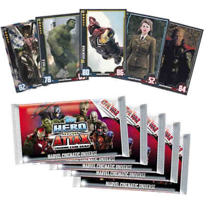 Hero Attax 2016  Trading Cards 10er Bundle