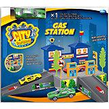 """Набор """"Заправочная станция с машинкой"""", Dave Toy"""