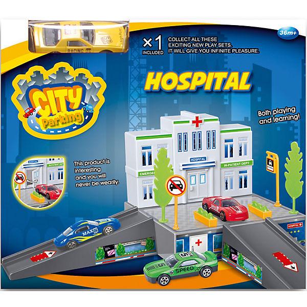 """Набор """"Больница с машинкой"""", Dave Toy"""