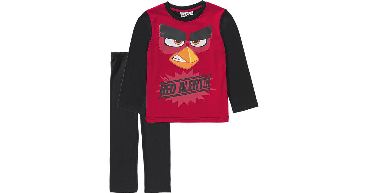 ANGRY BIRDS Schlafanzug Gr. 116 Jungen Kleinkinder