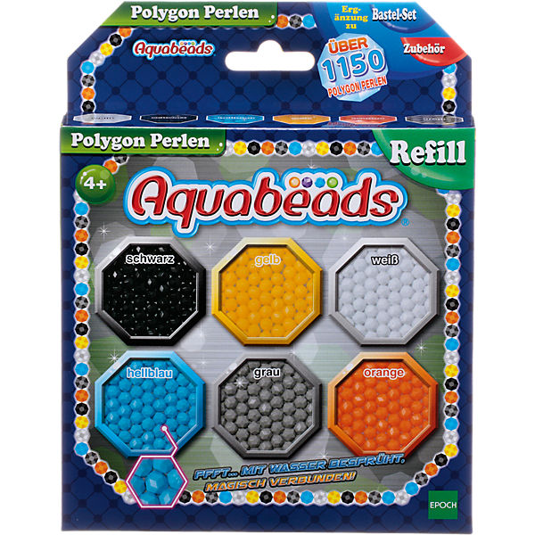 Aquabeads Polygon Perlen