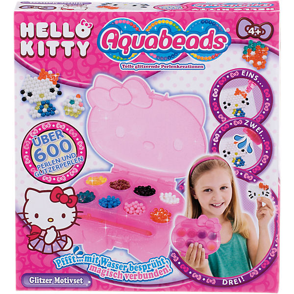 Aquabeads Hello Kitty Glitzer Motivset