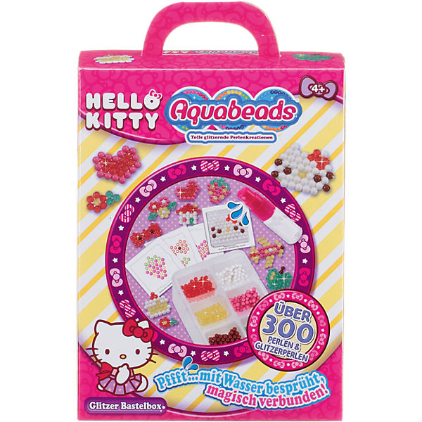 Aquabeads Hello Kitty Glitzer Bastelbox