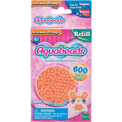 Aquabeads Nachfüllpack Orange Perlen