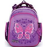 Ранец школьный Hummingbirdс мешком для обуви Бабочка