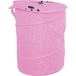 """Корзина для игрушек """"Котенок"""", розовая"""