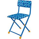 "Складной стул СТУ3 ""Сердечки"", Ника, голубой"