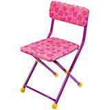 """Складной стул СТУ3 """"Сердечки"""", Ника, розовый"""