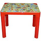 """Красный стол """"Азбука"""""""
