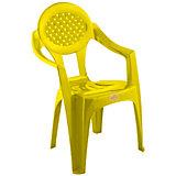 """Желтый стул """"Малыш"""""""