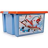 """Ящик для игрушек """"Самолеты"""", 30 л"""