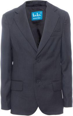 Пиджак для мальчика Button Blue - серый