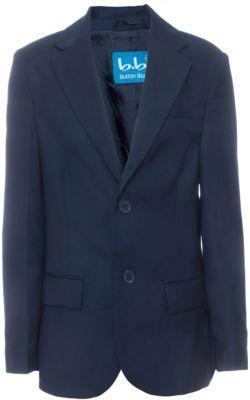 Пиджак для мальчика Button Blue - синий