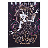 "Блокнот ""Monster High"", А7, 60 листов, клетка"