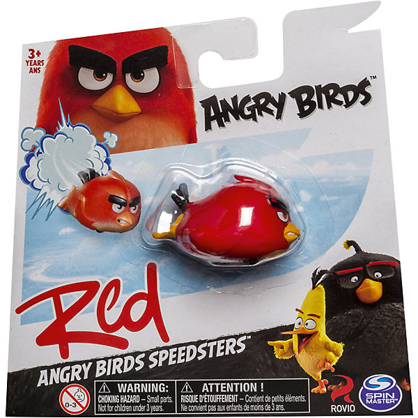 Птичка на колесиках Ред, Angry Birds