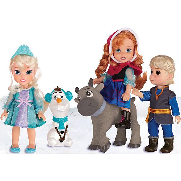 """Игровой набор """"5 кукол"""", 15 см, Холодное Сердце"""