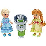 """Игровой набор """"2 куклы 15 см и тролли"""", Холодное сердце"""