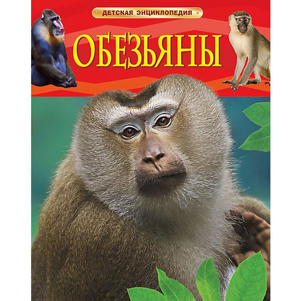 """Детская энциклопедия """"Обезьяны"""""""