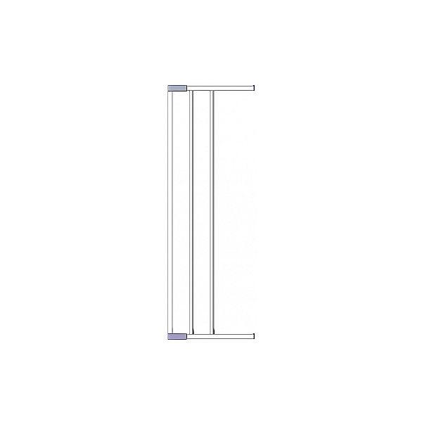 Дополнительная секция к воротам безопасности 18 см, Clippasafe, белый