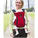 Рюкзак-переноска для детей Freestyle Premier, Tomy, красный