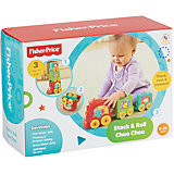 "Кубики-блоки ""Паровозики"", Fisher-Price"