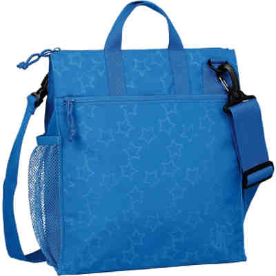 Wickeltasche Casual, Buggy Bag, Reflective Star, blue