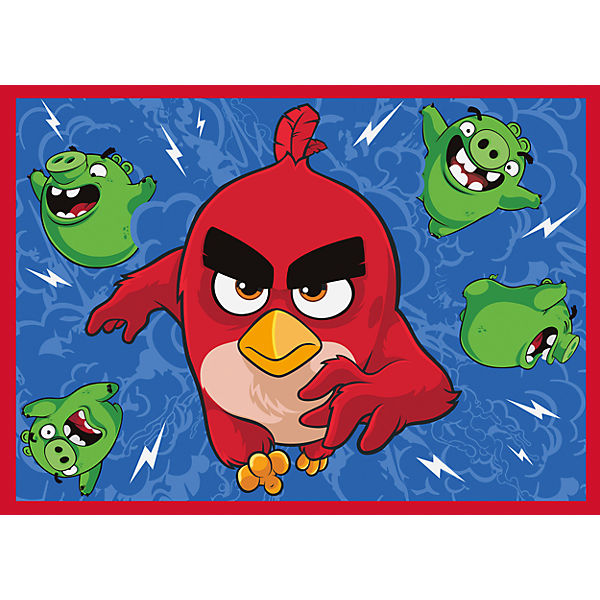 Kinderteppich Angry Birds, Feathered & Furious, 95 x 133 cm