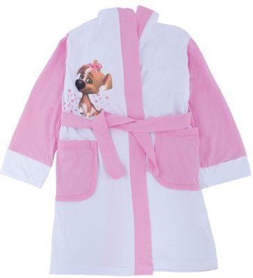 Халат для девочки КотМарКот - розовый