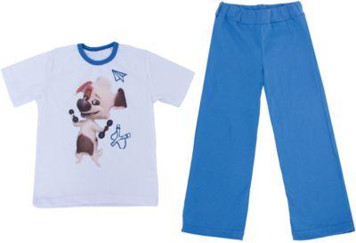 Пижама КотМарКот для мальчика - синий