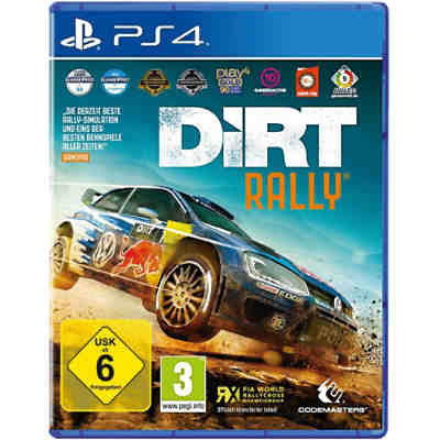 PS4 DiRT Rally