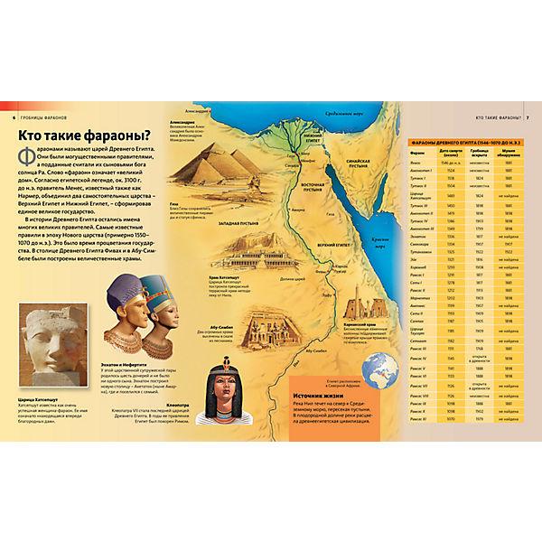 Гробницы фараонов, Discovery Education
