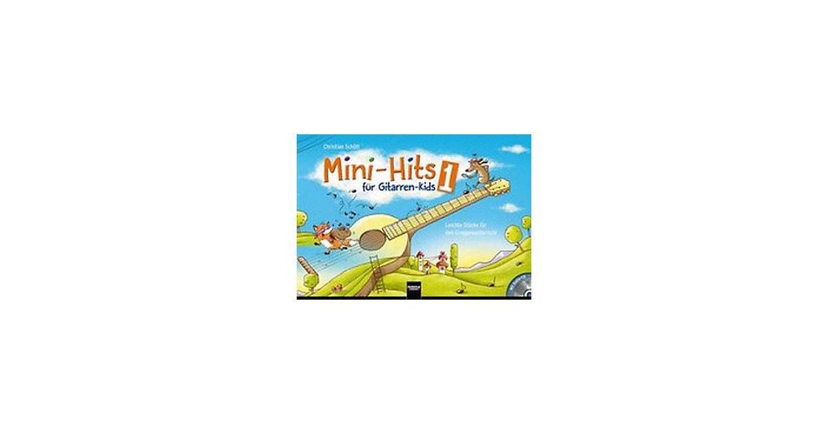 Buch - Mini-Hits Gitarren-Kids, mit 1 Audio-CD Kinder