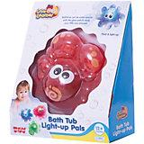 Игрушка для ванной Крабик, со светом, HAP-P-KID