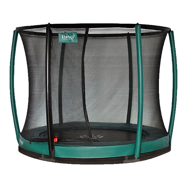 Trampolin Inground Etan Premium Gold  10 Combi Deluxe 3,00m grün