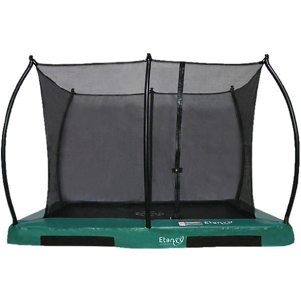 Trampolin Inground Hi-Flyer 1075 Trampolin mit passendem Sicherheitsnetz