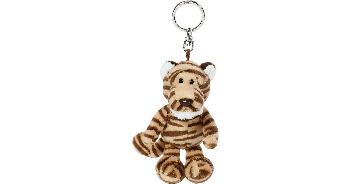 40208 Tiger Kofu Schlüsselanhänger, 10cm Jungen Kinder