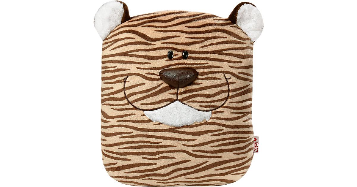 Wild Friends Kissen Tiger figürlich 30x38cm (40244)
