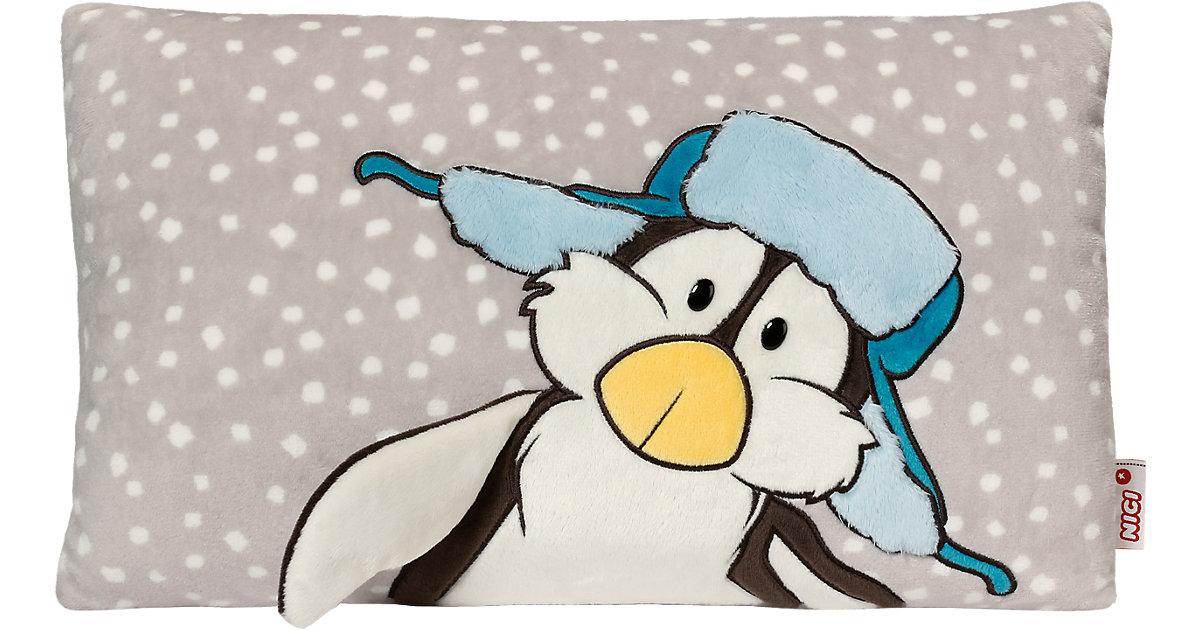 Kissen Pinguin rechteckig 43x25cm (39933)