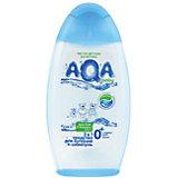 Средство для купания и шампунь 2 в 1, AQA baby, 250 мл.