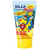 Зубная паста банан (без фтора) от 1 до 6 лет, Silca, 50 мл.
